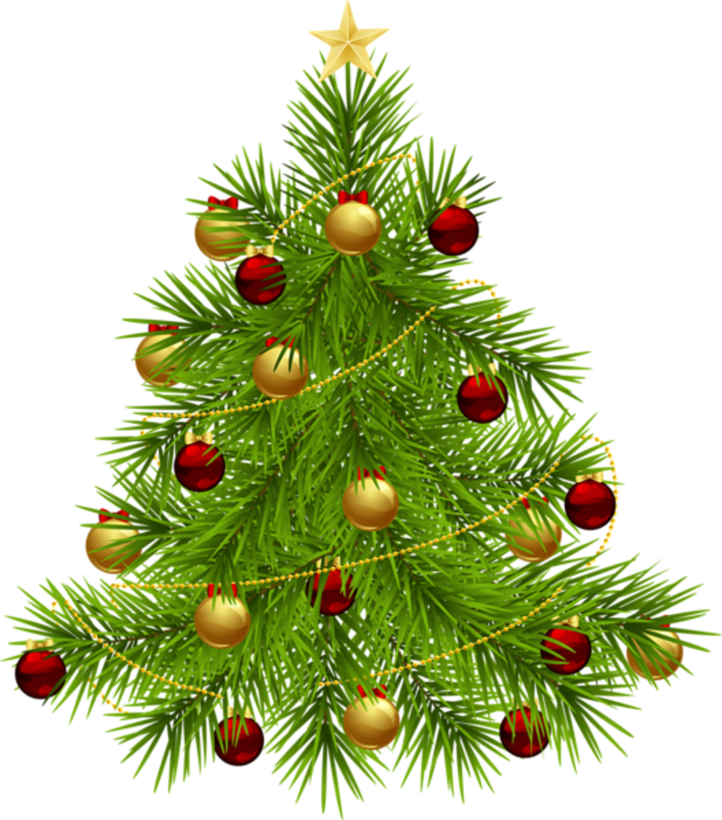 Christmas Tree With Decorations For Sale